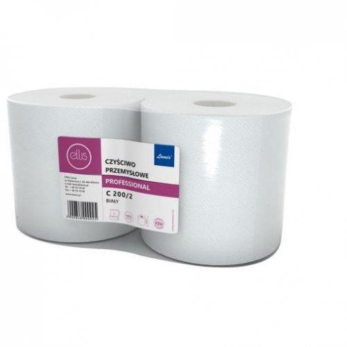 Czyściwo Przemysłowe C200/2 Białe 100% Celuloza Lamix