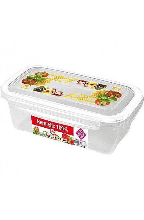 Pojemniki do żywności - Pojemnik Hermetic 1,5L Mix Wzorów Elh -