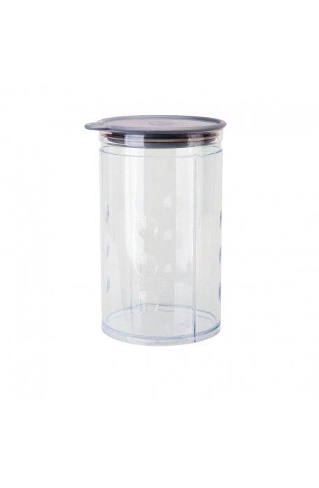 Pojemniki do żywności - Pojemnik Na Artykuły Sypkie 1,25l Alum Elh Juypal  -