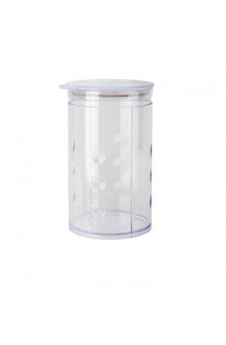 Pojemniki do żywności - Pojemnik Na Artykuły Sypkie 1,25l Transparentny Elh Juypal  -