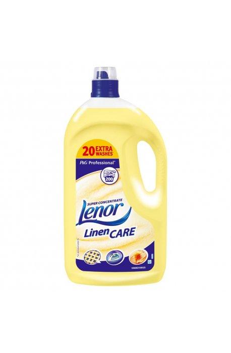 Żele, płyny do prania i płukania - Płyn Do Płukania 5l Żółty 200 Prań Lenor Summer Procter Gamble -