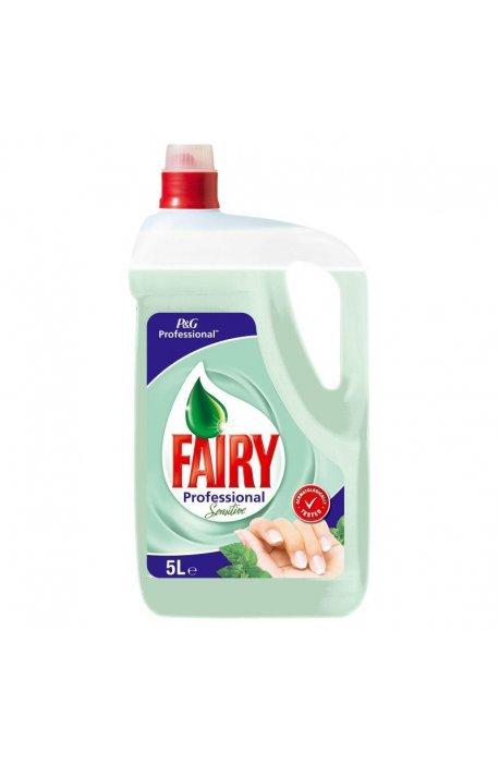 Płyny do naczyń - Płyn Do Mycia Naczyń 5l Sensitive Fairy Procter Gamble -