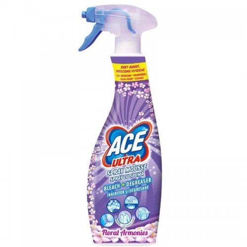 Pianka Odplamiacz Spray 700ml Flower Fioletowy Procter Gamble Ace Ultra