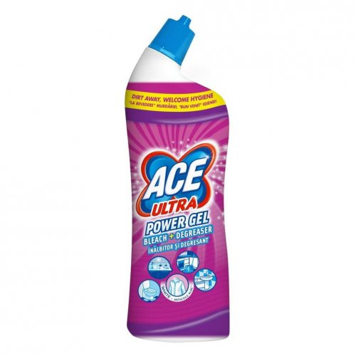 Żel Do Wc 750ml Fresh Różowy Procter Gamble Ace Ultra