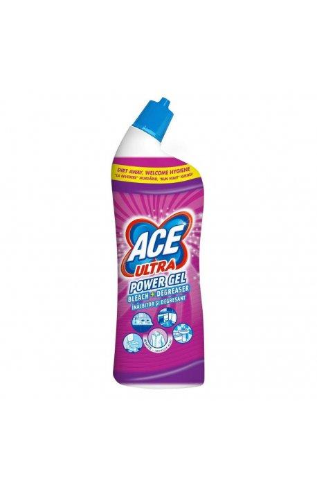 Płyny do WC lub łazienki oraz koszyki zapachowe - Żel Do Wc 750ml Fresh Różowy Procter Gamble Ace Ultra -