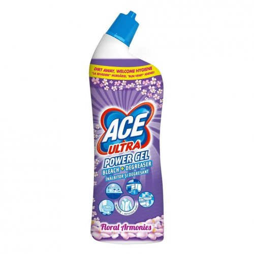 Żel Do Wc 750ml Flowers Fioletowy Procter Gamble Ace Ultra