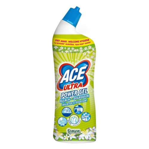 Żel Do Wc 750ml Lemon Zielony Procter Gamble Ace Ultra