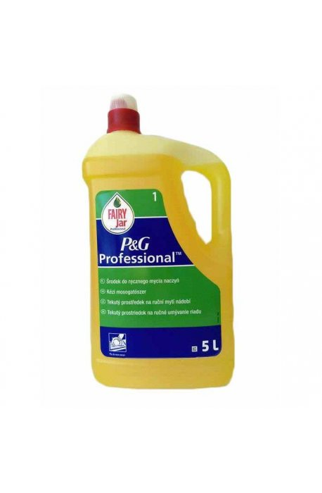 Płyny do naczyń - Płyn Do Mycia Naczyń 5l Lemon Fairy Procter Gamble -