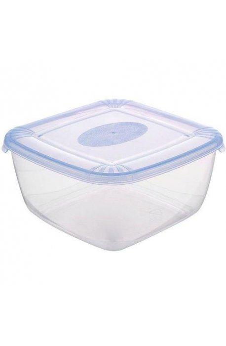 Pojemniki do żywności - Pojemnik Polar Kwadratowy 0,95l Niebieski 1675  Plast Team -