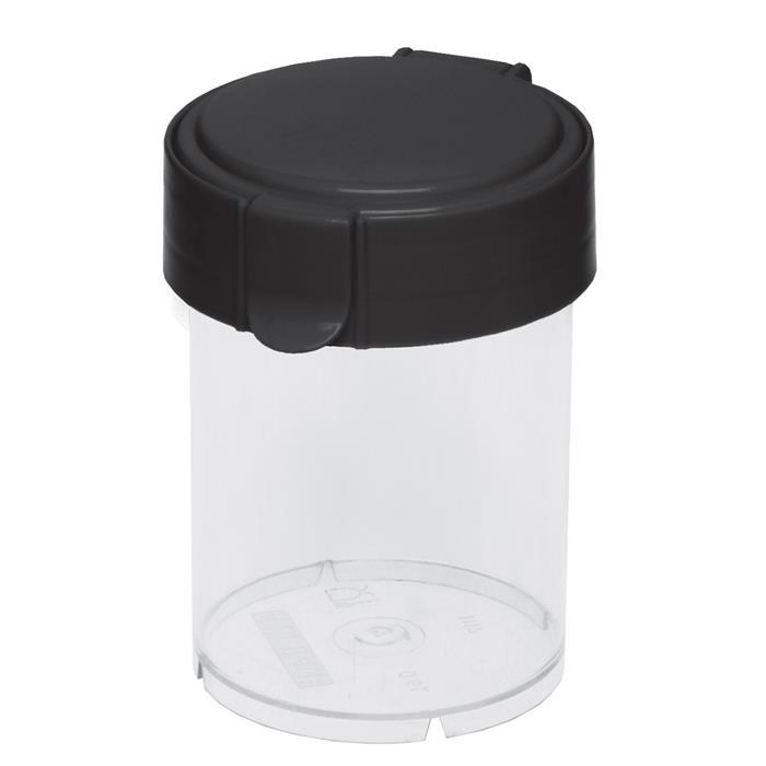 Pojemniki do żywności - Pojemnik Okrągły Mary 1,1l Czarny 1851 Plast Team -