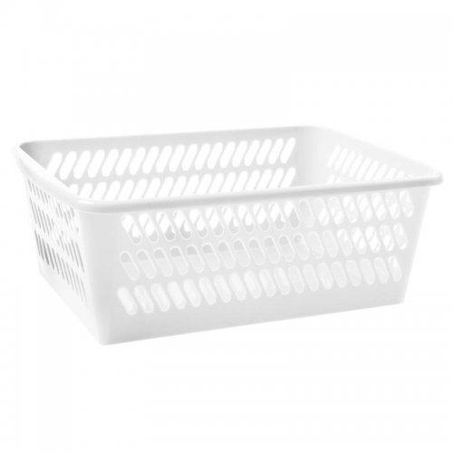 Koszyk K4 36,5x25,5x14,5cm Biały 1025 Plast Team