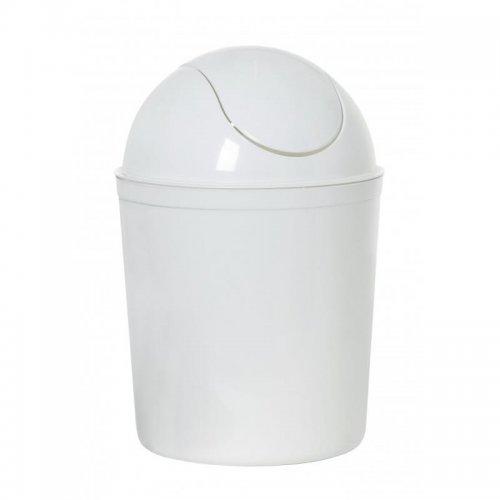 Plast Team Kosz 5l Swing Casa 1345 Biały