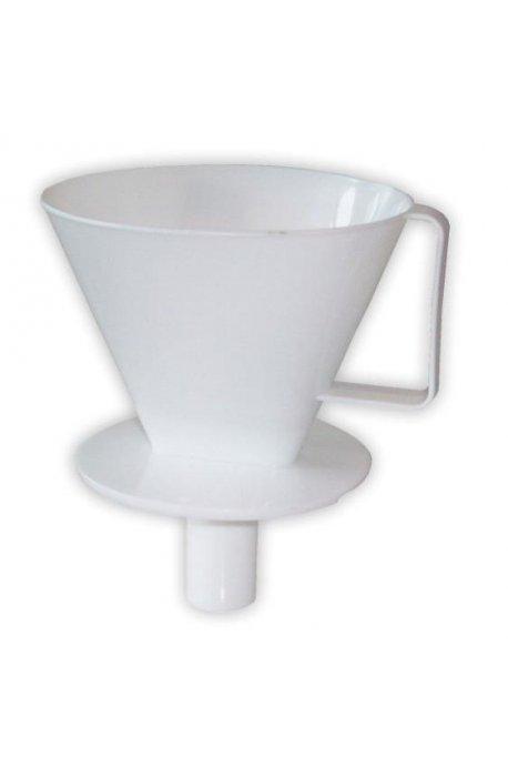 Filtry i zaparzacze do kawy - Zaparzacz Do Kawy Biały 4120  Plast Team -