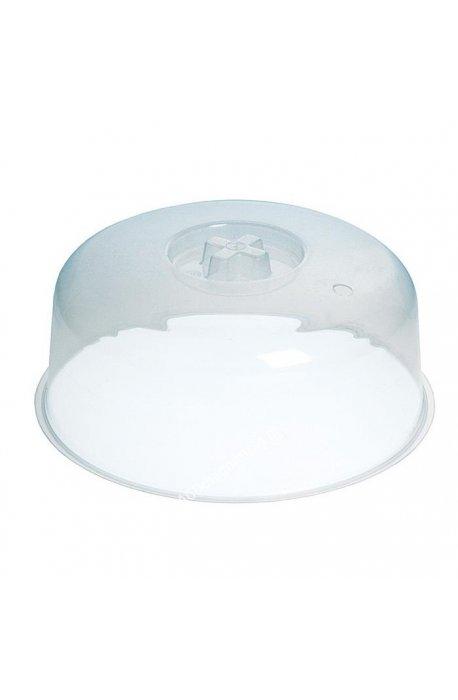 Naczynia, miski, dzbanki, miarki, dozowniki - Pokrywa Do Mikrofali Transparentna 3121 Plast Team -