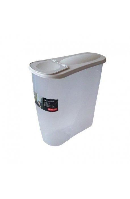 Pojemniki do żywności - Pojemnik Na Płatki Śniadaniow 3,5l 3560 Biały Plast Team -