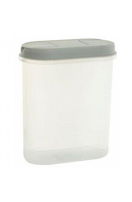 Pojemniki do żywności - Pojemnik Z Dozownikiem 2,2l 1126 Biały Plast Team -
