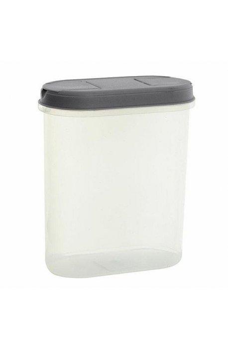Pojemniki do żywności - Pojemnik Z Dozownikiem 2,2l 1126 Szary Plast Team -