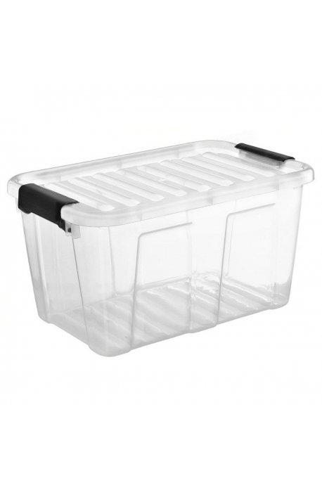 Pojemniki uniwersalne - Pojemnik Home Box 31l Z Czarnym Uchwytem 2232 Plast Team -