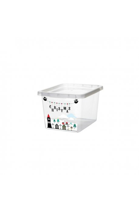 Pojemniki uniwersalne - Pojemnik Basic Z Nadrukiem 13l 2295 Plast Team -