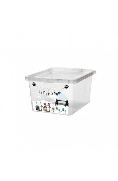 Pojemniki uniwersalne - Pojemnik Basic Z Nadrukiem 18l 2296 Plast Team -