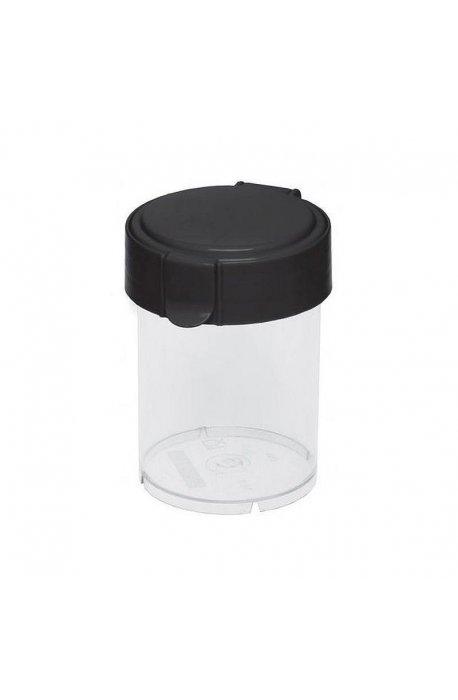 Pojemniki do żywności - Pojemnik Okrągły Mary 0,6l Czarny 1850  Plast Team -