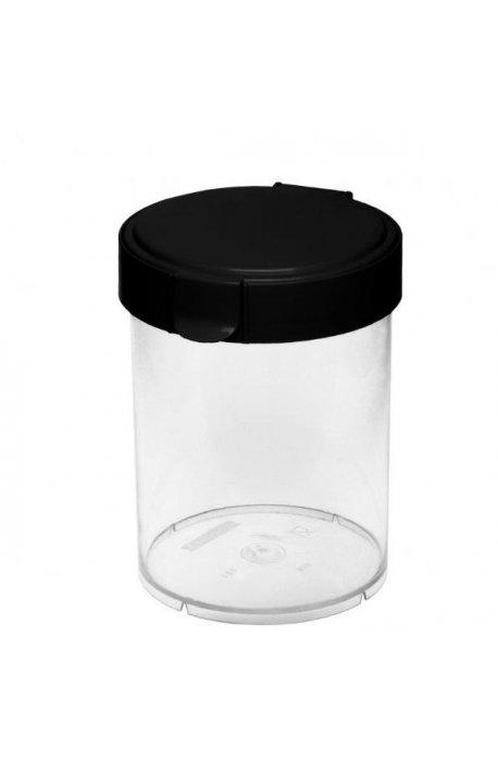 Pojemniki do żywności - Pojemnik Okrągły Mary 2l Czarny 1852 Plast Team -