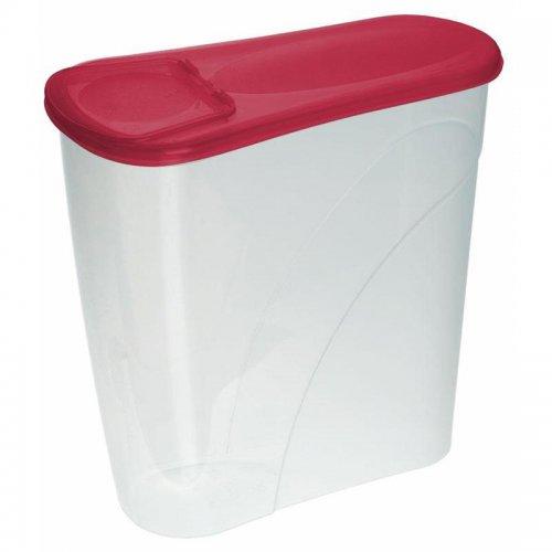 Pojemnik Na Płatki Śniadaniow 3,5l 3560 Czerwony Plast Team