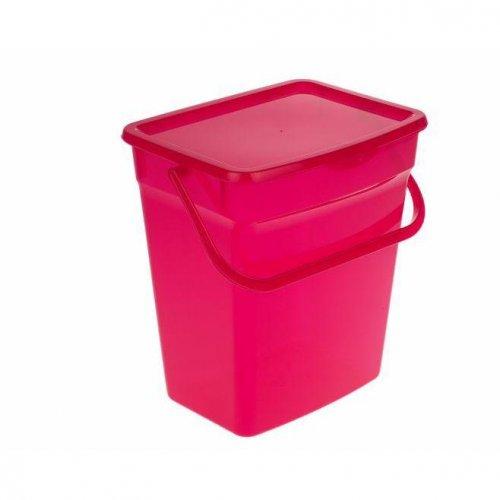 Pojemnik Na Proszek 10L Czerwony 5060 Plast Team
