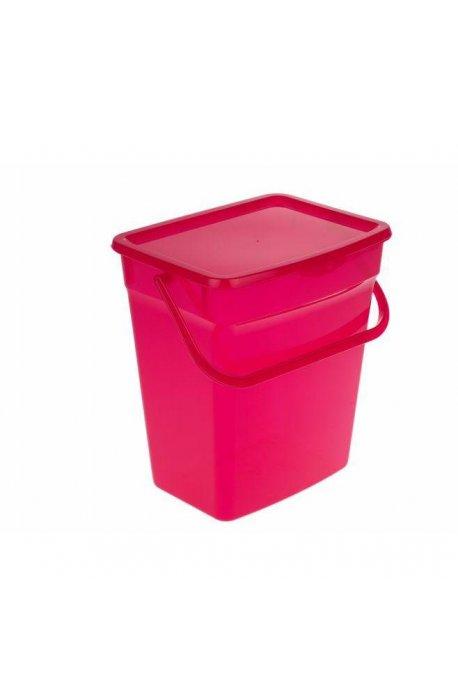 Pojemniki do proszku - Pojemnik Na Proszek 10L Czerwony 5060 Plast Team -