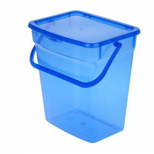 Pojemnik Na Proszek 10l Niebieski 5060 Plast Team