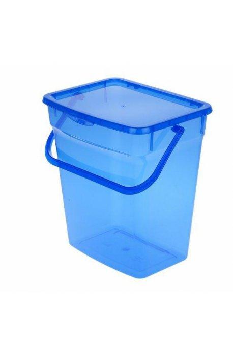 Pojemniki do proszku - Pojemnik Na Proszek 10l Niebieski 5060 Plast Team -