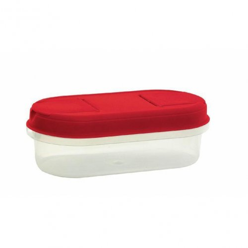 Pojemnik Z Dozownikiem 0,5l 1124 Czerwony Plast Team