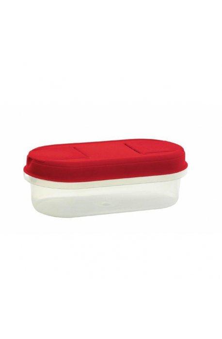Pojemniki do żywności - Pojemnik Z Dozownikiem 0,5l 1124 Czerwony Plast Team -