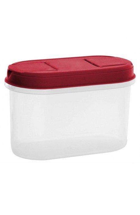 Pojemniki do żywności - Pojemnik Z Dozownikiem 1,1l 1125 Czerwony Plast Team -