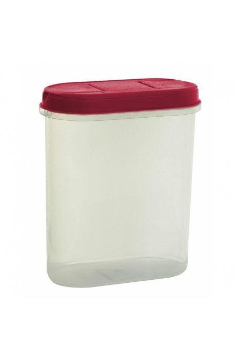 Pojemniki do żywności - Pojemnik Z Dozownikiem 2,2l 1126 Czerwony Plast Team -