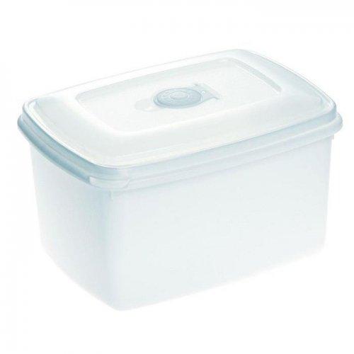 Pojemnik Do Mikrofalówki 2,3l Top Box Biały 1545 Plast Team