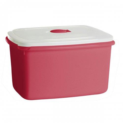 Pojemnik Do Mikrofalówki 2,3l Top Box Czerwony 1545 Plast Team