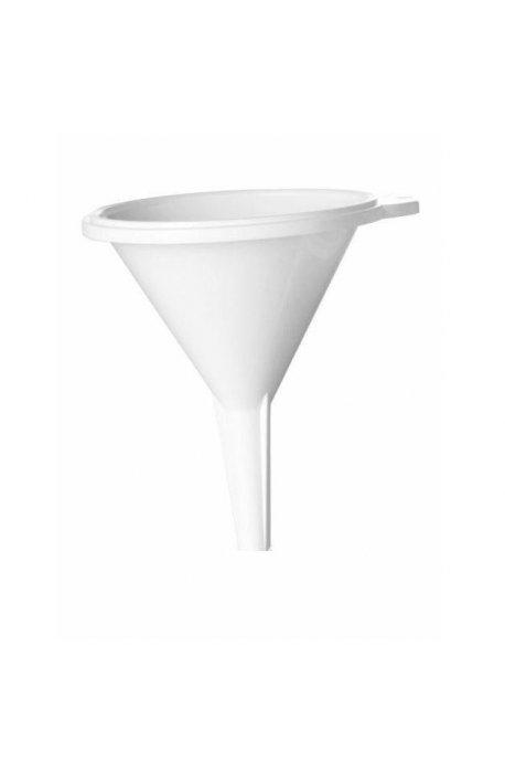 Lejki, dekoratory do ciast - Lejek 12cm Biały 1389  Plast Team -
