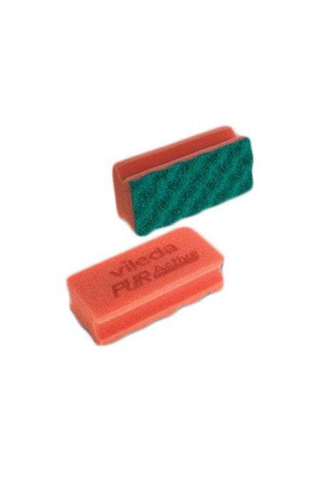 Druciaki, czyściki, zmywaki - Gąbka Pur Active Czerwona 123112 Vileda Professional -