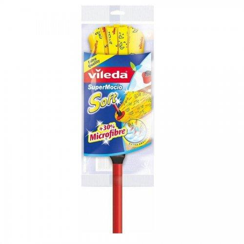 Mop z drążkiem SuperMocio Soft 142593 Vileda