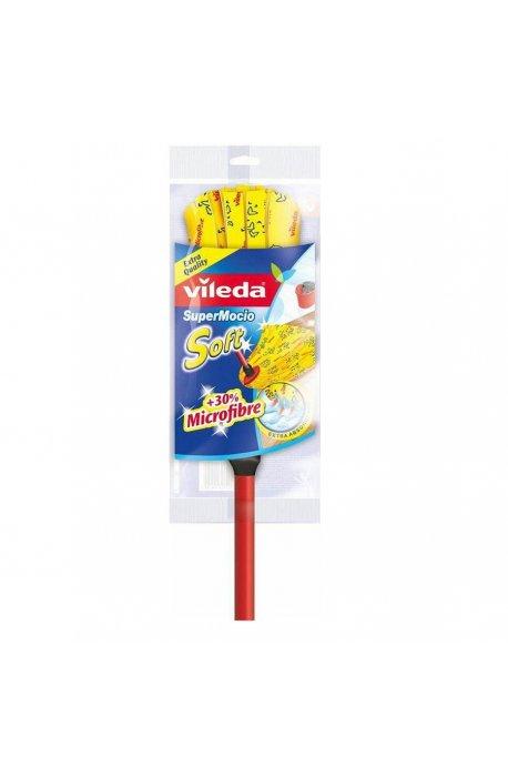 Mopy z drążkiem - Mop z drążkiem SuperMocio Soft 142593 Vileda -