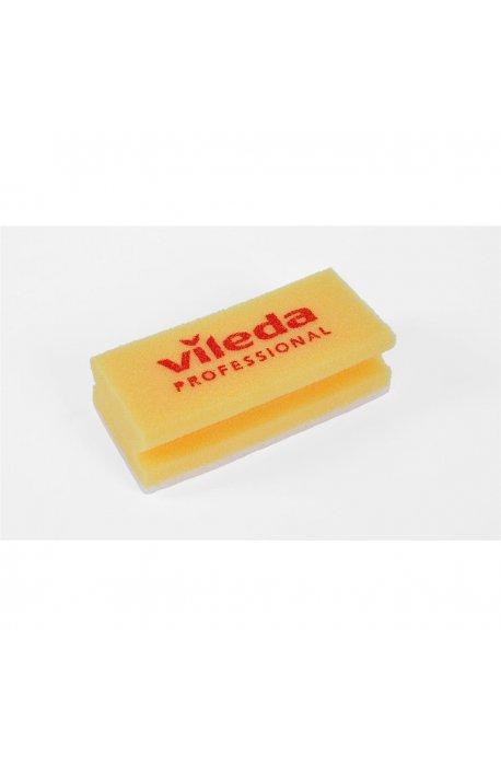 Druciaki, czyściki, zmywaki - Myjka Antyrys Żółta 7x15cm 101884 Vileda Professional -