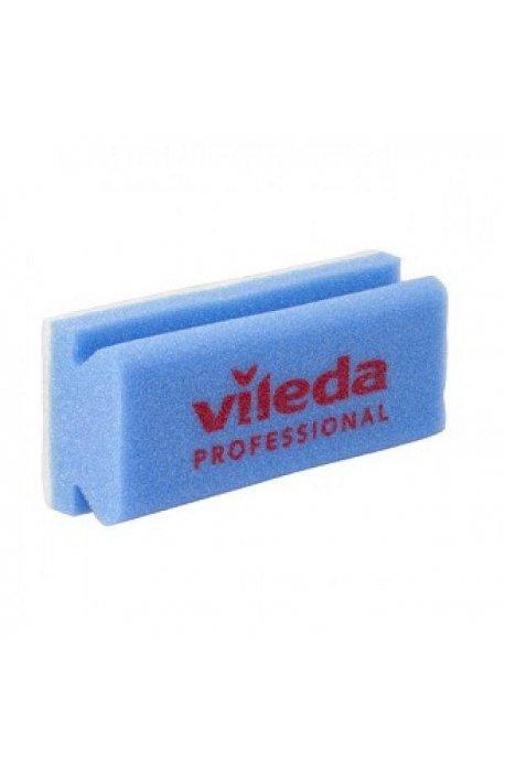Druciaki, czyściki, zmywaki - Myjka Antyrys Niebieska 7x15cm 101882 Logo Vileda Professional -