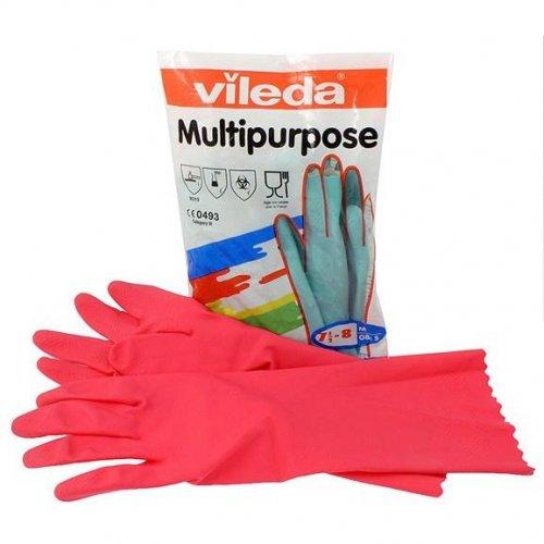 Rękawice Multipurpose Red M 100153 Vileda Professional