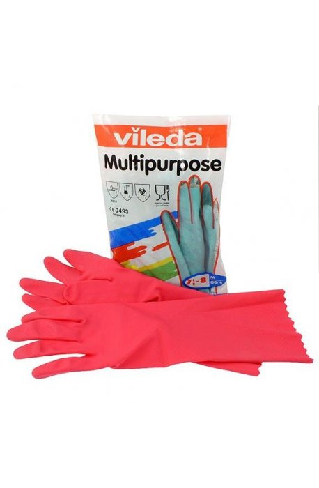 Rękawice - Rękawice Multipurpose Red M 100153 Vileda Professional -