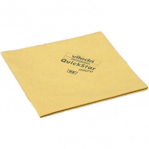 Ścierka Micron Quick Żółta 152107 Vileda Professional