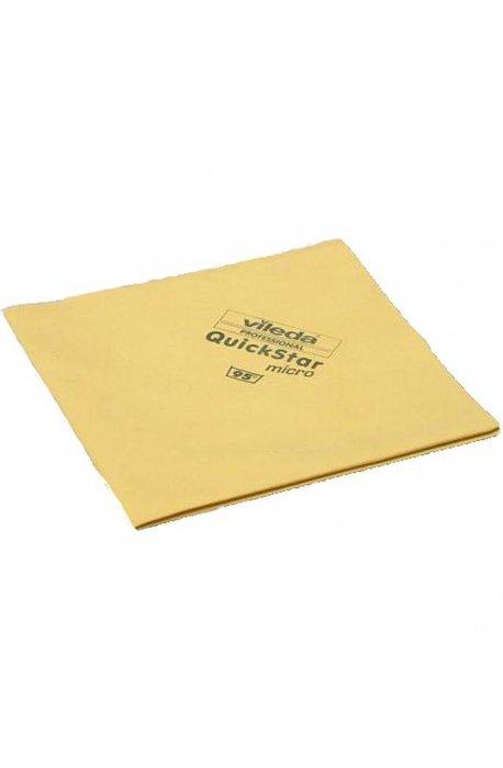 Gąbki, ścierki, szczotki - Ścierka Micron Quick Żółta 152107 Vileda Professional -