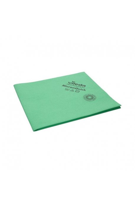 Gąbki, ścierki, szczotki - Ścierka Micron Quick Zielona 152108  Vileda -
