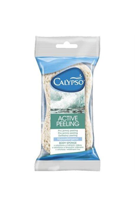 Gąbki, myjki, pumeksy kąpielowe - Gąbka Active Peeling 20203 Spontex Calypso -