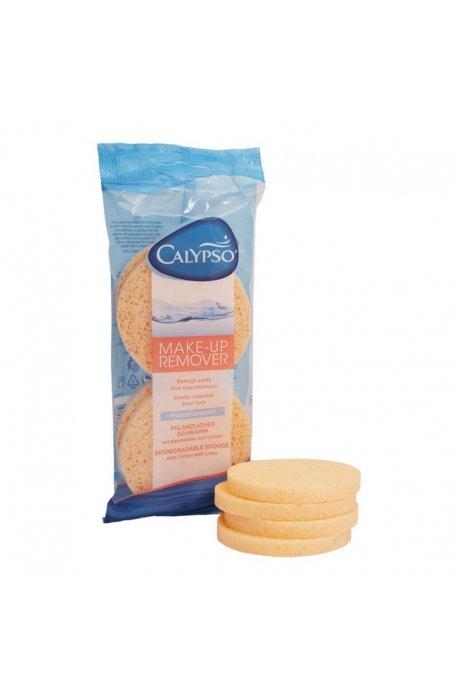 Gąbki, myjki, pumeksy kąpielowe - Gąbka Do Demakijażu Make-Up 2szt 20206 Spontex Calypso -